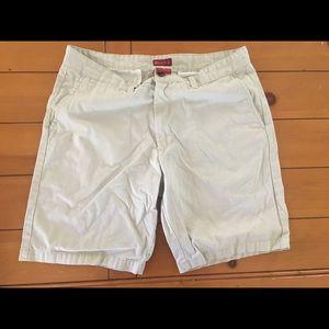 Merona Khaki Shorts 36